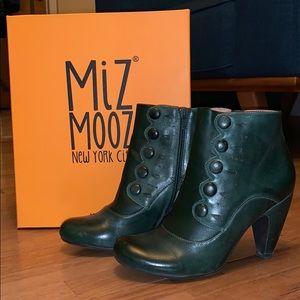 "Miz Mooz ""Strut"" ankle boots, size 7"